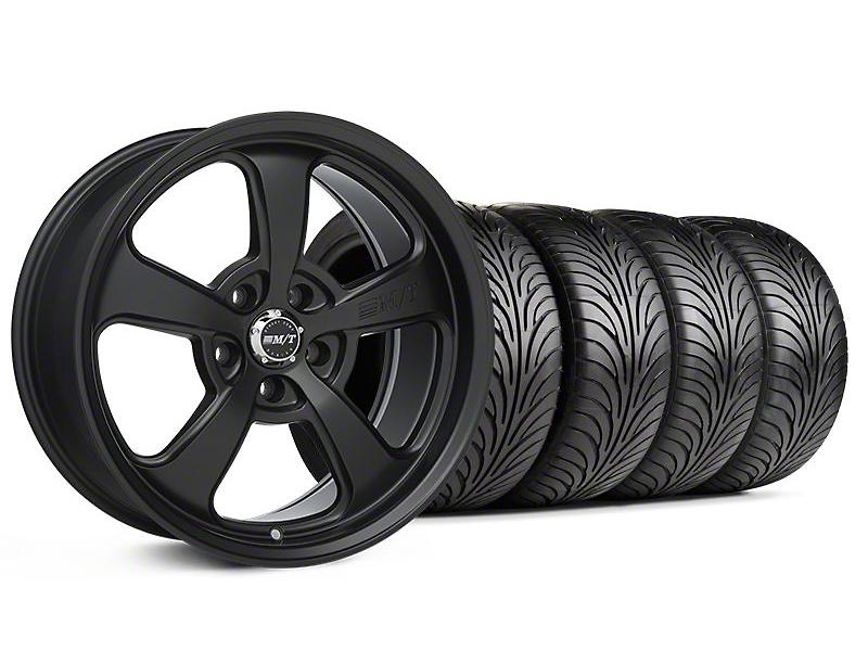 Mickey Thompson SC-5 Flat Black Wheel & Sumitomo Tire Kit - 18x9 (94-98 All)