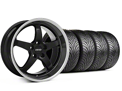 MMD Kage Black Wheel & Sumitomo Tire Kit - 18x9 (94-98 All)