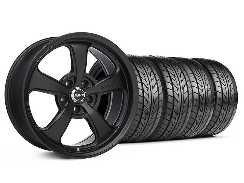 Mickey Thompson SC-5 Flat Black Wheel & NITTO Tire Kit - 18x9 (99-04 All)