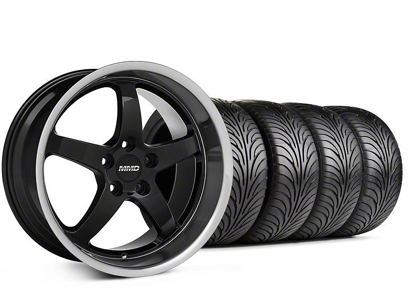MMD Kage Black Wheel & Sumitomo Tire Kit - 18x9 (99-04 All)
