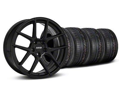 MMD Zeven Black Wheel & NITTO INVO Tire Kit - 19x8.5 (05-14 All)