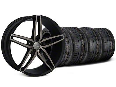 Foose Stallion Double Dark Wheel & NITTO INVO Tire Kit - 20x8.5 (05-14 All)