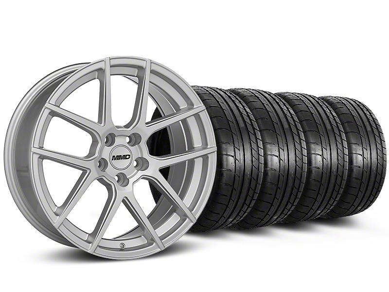 MMD Zeven Silver Wheel & Sumitomo Tire Kit - 19x8.5 (05-14 All)