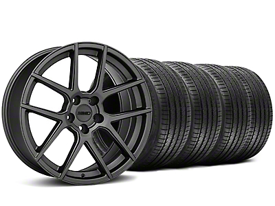 MMD Zeven Charcoal Wheel & Sumitomo Tire Kit - 20x8.5 (05-14 All)