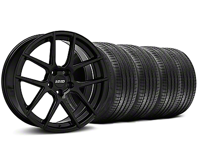 MMD Zeven Black Wheel & Sumitomo Tire Kit - 20x8.5 (05-14 All)