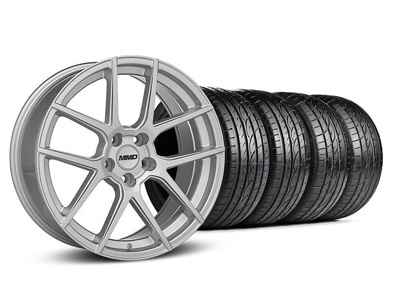 MMD Zeven Silver Wheel & Sumitomo Tire Kit - 20x8.5 (05-14 All)