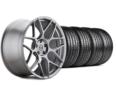 HRE Flowform FF01 Liquid Silver Wheel & Sumitomo Tire Kit - 20x9.5 (05-14 All)