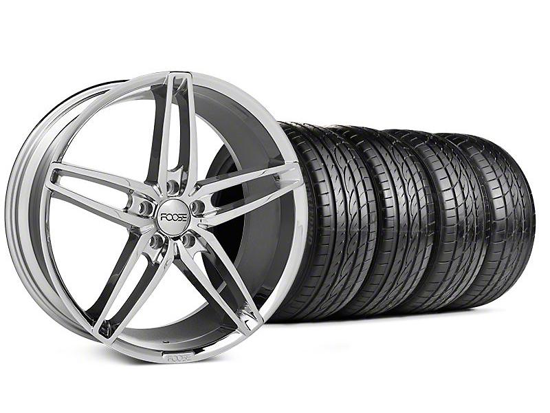 Foose Stallion Chrome Wheel & Sumitomo Tire Kit - 20x8.5 (05-14 All)