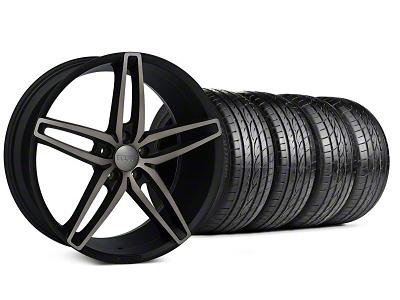 Foose Stallion Double Dark Wheel & Sumitomo Tire Kit - 20x8.5 (05-14 All)
