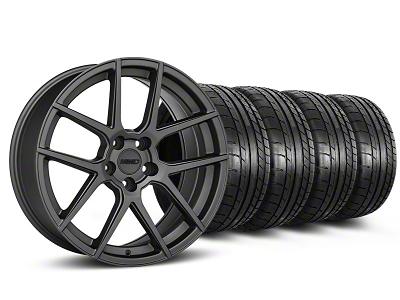 MMD Zeven Charcoal Wheel & Mickey Thompson Tire Kit - 20x8.5 (05-14 All)