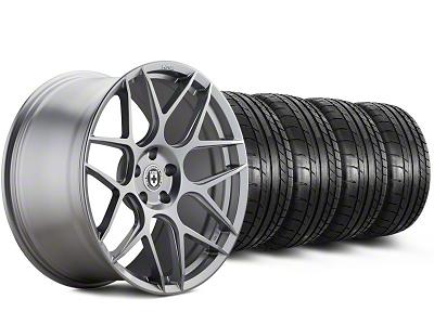HRE Flowform FF01 Liquid Silver Wheel & Mickey Thompson Tire Kit - 20x9.5 (05-14 All)