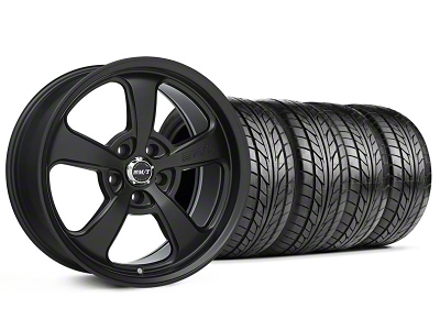 Mickey Thompson Staggered SC-5 Flat Black Wheel & NITTO Tire Kit - 17x9/10.5 (94-98 All)