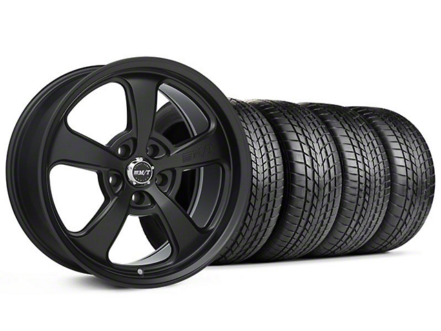 Staggered Mickey Thompson SC-5 Flat Black Wheel & Sumitomo Tire Kit - 17x9/10 (99-04 All)