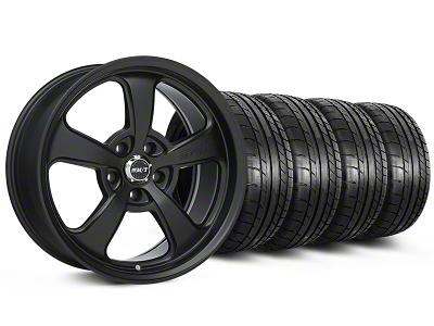 Mickey Thompson Staggered SC-5 Flat Black Wheel & Mickey Thompson Tire Kit - 17x9/10 (99-04 All)