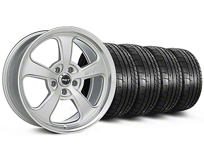 Mickey Thompson Staggered SC-5 Silver Wheel & Mickey Thompson Tire Kit - 17x9/10 (99-04 All)