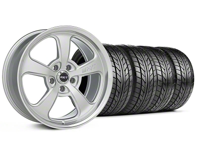 Mickey Thompson Staggered SC-5 Silver Wheel & NITTO Tire Kit - 18x9/10.5 (94-98 All)