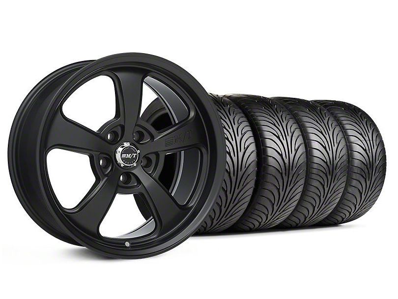 Staggered Mickey Thompson SC-5 Flat Black Wheel & Sumitomo Tire Kit - 18x9/10.5 (94-98 All)