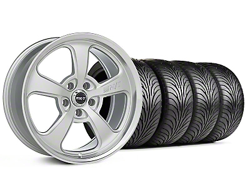 Mickey Thompson Staggered SC-5 Silver Wheel & Sumitomo Tire Kit - 18x9/10.5 (94-98 All)