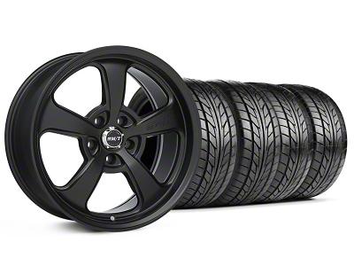 Mickey Thompson Staggered SC-5 Flat Black Wheel & NITTO Tire Kit - 18x9/10.5 (99-04 All)