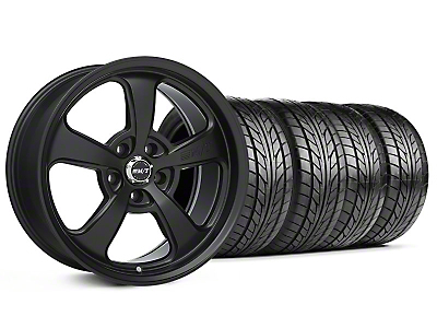 Mickey Thompson Staggered SC-5 Flat Black Wheel & NITTO Tire Kit - 18x9/10.5 (99-04 All)