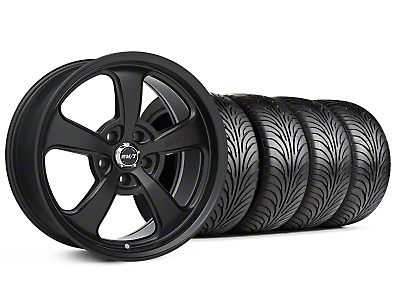 Mickey Thompson Staggered Flat Black SC-5 Wheel & Sumitomo Tire Kit - 18x9/10.5 (99-04 All)