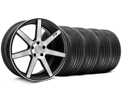 Niche Staggered Verona Black Double Dark Wheel & Sumitomo Tire Kit - 20x9/10 (05-14 All)