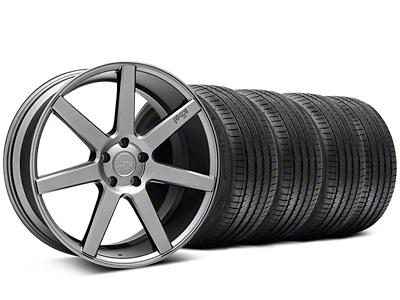 Niche Staggered Verona Anthracite Wheel & Sumitomo Tire Kit - 20x9/10 (05-14 All)