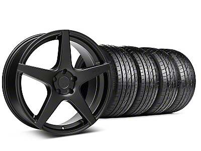 Niche Staggered GT5 Matte Black Wheel & Sumitomo Tire Kit - 20x8.5/10.5 (05-14 All)