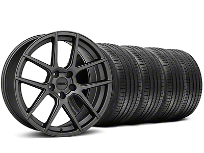 MMD Staggered Zeven Charcoal Wheel & Sumitomo Tire Kit - 20x8.5/10 (05-14 All)