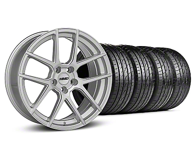 MMD Staggered Zeven Silver Wheel & Sumitomo Tire Kit - 20x8.5/10 (05-14 All)