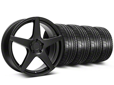 Niche Staggered GT5 Matte Black Wheel & Mickey Thompson Tire Kit - 20x8.5/10.5 (05-14 All)