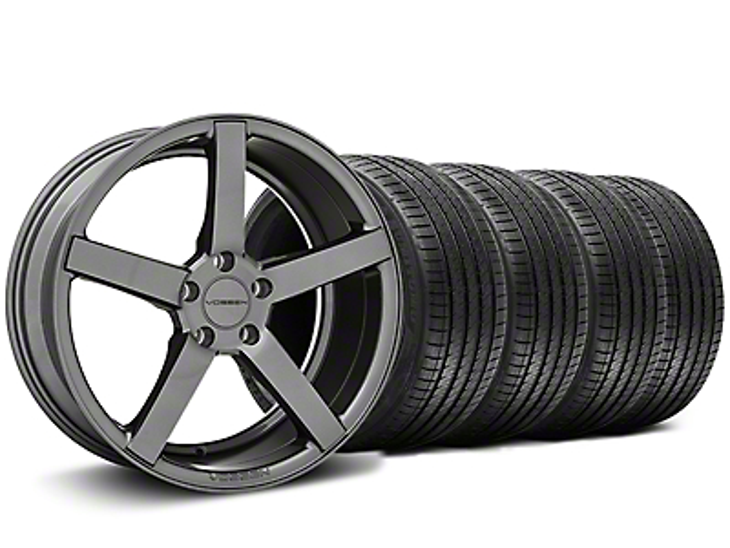 CV3-R Graphite Wheel & Sumitomo Tire Kit - 20x9 (05-14 All)