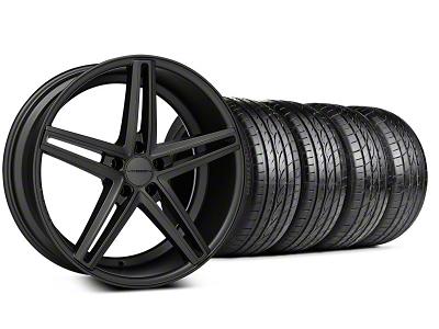 CV5 Matte Graphite Wheel & Sumitomo Tire Kit - 20x9 (05-14 All)
