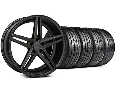 Matte Graphite CV5 Wheel & Sumitomo Tire Kit - 20x9 (05-14 All)