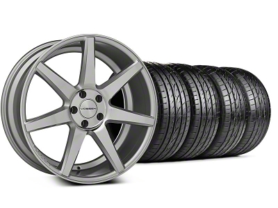Staggered CV7 Silver Polished Wheel & Sumitomo Tire Kit - 20x9/10.5 (05-14 All)