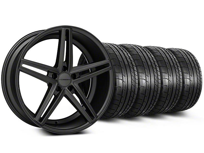 Staggered CV5 Matte Graphite Wheel & Mickey Thompson Tire Kit - 20x9/10.5 (05-14 All)