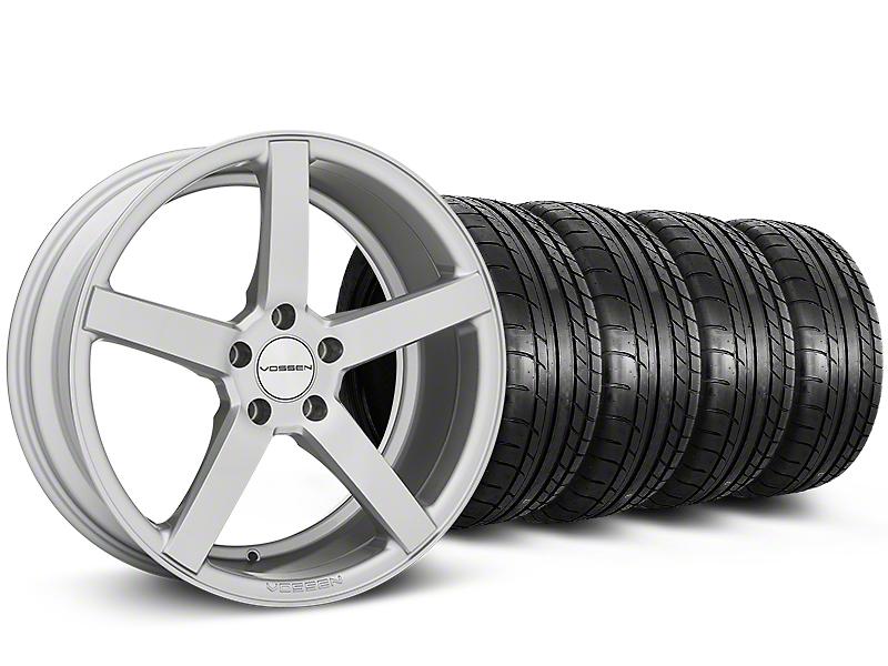 Staggered CV3-R Metallic Silver Wheel & NITTO INVO Tire Kit - 20x9/10.5 (05-14 All)