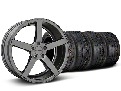 Staggered CV3-R Graphite Wheel & NITTO INVO Tire Kit - 20x9/10.5 (05-14 All)