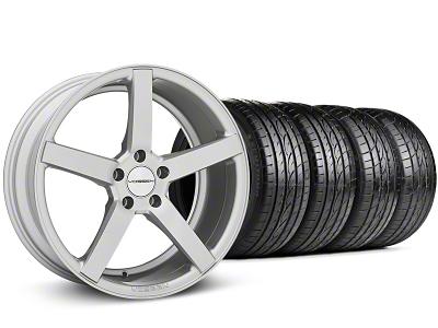 Staggered CV3-R Metallic Silver Wheel & Sumitomo Tire Kit - 19x8.5/10 (05-14 All)