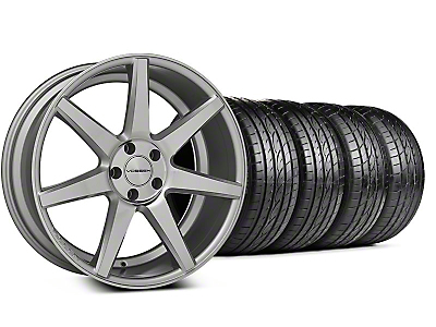 Staggered CV7 Silver Polished Wheel & Sumitomo Tire Kit - 19x8.5/10 (05-14 All)