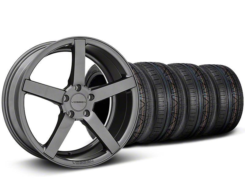 Staggered CV3-R Graphite Wheel & NITTO INVO Tire Kit - 19x8.5/10 (05-14 All)