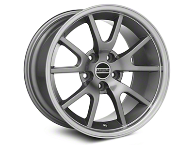 FR500 Style Anthracite Wheel - 17x10.5 (94-04 All)