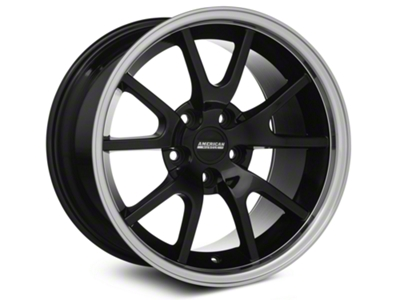 FR500 Style Black Wheel - 17x10.5 (94-04 All)