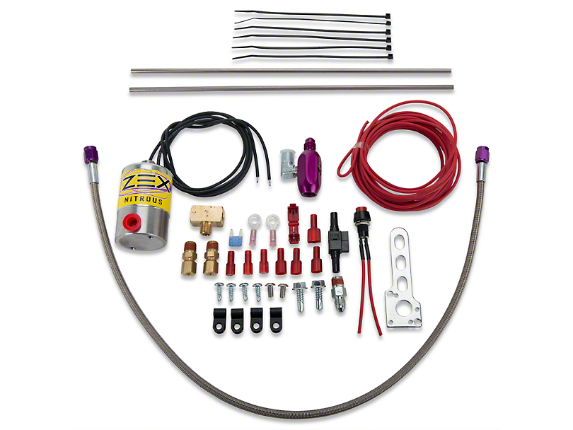ZEX Nitrous Dual Outlet Purge Kit (79-16 All)