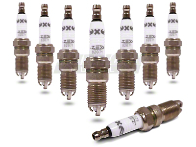 ZEX Power Racer Spark Plugs (93-04 Cobra; 96-04 GT, Mach 1)