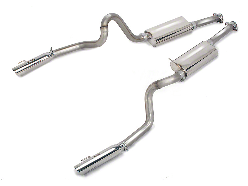 Bassani Cat-Back Exhaust (99-04 GT, Mach 1)