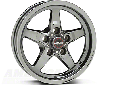 Race Star Dark Star Drag Wheel - Uni-Lug - 15x3.75 (94-04 GT, V6)