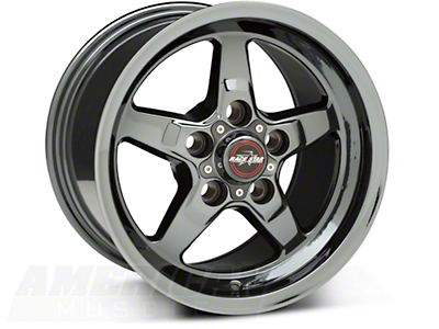 Race Star Dark Star Drag Wheel - Uni-Lug - 17x9.5 (05-14 GT, V6)