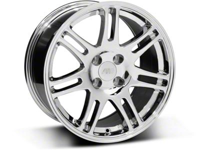 10th Anniversary Cobra Style Chrome Wheel - 17x9 (87-93; Excludes 93 Cobra)