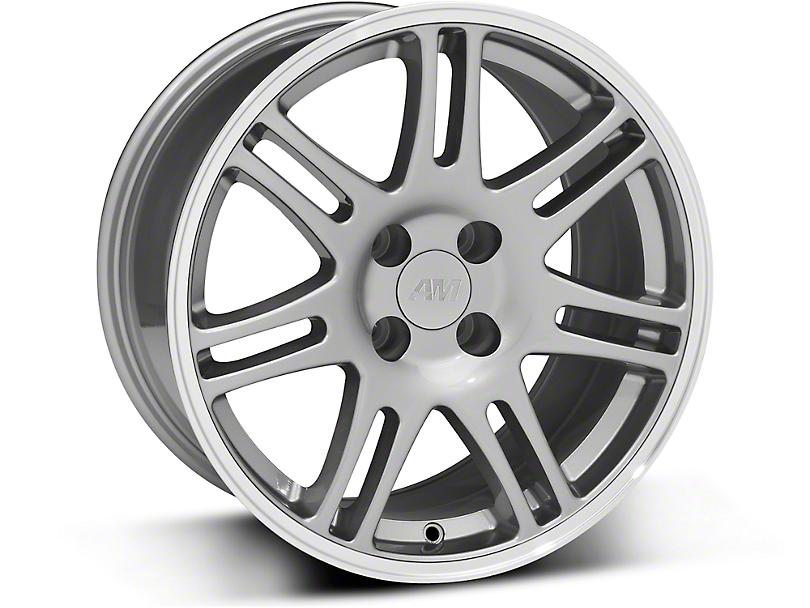 10th Anniversary Cobra Style Anthracite Wheel - 17x9 (87-93; Excludes 93 Cobra)